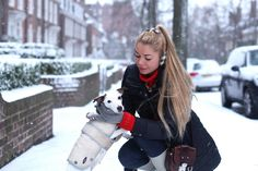 JELIZA ROSE: Hint of Red in the Snow