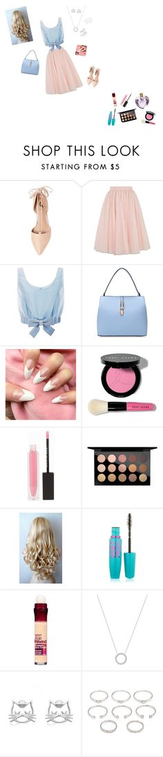 """A Sweetheart"" by cunicorn-1 on Polyvore featuring Ava & Aiden, Ted Baker, Honor, Bobbi Brown Cosmetics, Vera Wang, MAKE UP STORE, MAC Cosmetics, Maybelline, Michael Kors and Forever 21"