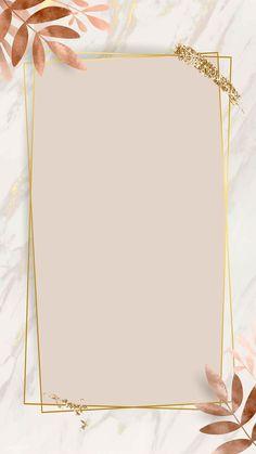 Pink And Gold Wallpaper, Gold Wallpaper Background, Framed Wallpaper, Phone Wallpaper Images, Pastel Background, Flower Wallpaper, Wallpaper Backgrounds, Frame Background, Glitter Wallpaper