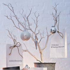 easy ideas for white xmas decoration