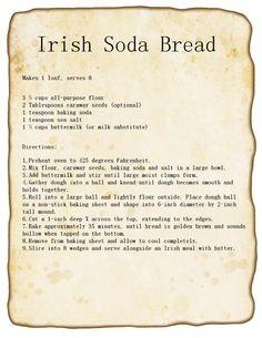 Irish Soda Bread Recipe #stpattys