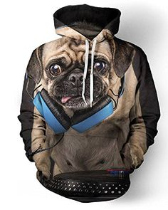 a6c9b3a31d1f 3D Hoodies Wolf Men Hip Hop Brand Jacket Coats Pullover Hoody Tops  Sweatshirts