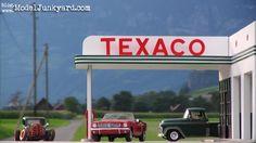 Texaco Gas Station photo shooting