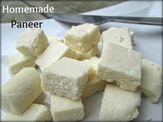 HOME MADE PANEER / COTTAGE CHEESE |Srithi's Samayalarai