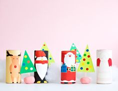 Easy Christmas Toilet Paper Roll Crafts   Paper crafts for kids are some of the easiest crafting techniques around, and the great part is that they don't cost much to make.
