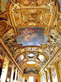 Salon Apollon - Louvre - Paris