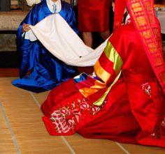 Paebaek | Korean Wedding Bowing Ceremony | 폐백 | Not Just Rice