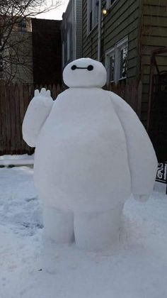 Funny pictures about Snow Baymax. Oh, and cool pics about Snow Baymax. Also, Snow Baymax photos. Disney Frozen, Disney Love, Disney Magic, Disney Stuff, Baymax, Disney And Dreamworks, Disney Pixar, Punk Disney, Disney Facts