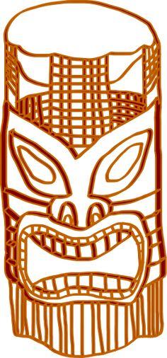 Tiki God Clip Art Related Keywords - Tiki God Clip Art Long Tail ...