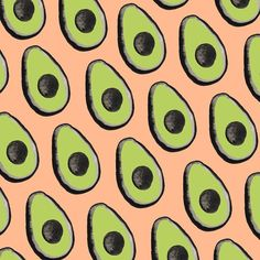Day 11/100. It's Friday, so let's talk about avocados. I don't think San Francisco would be the same without them. #The100DayProject #100daysofSFpatterns