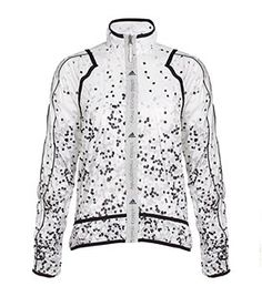 Adidas by Stella McCartney printed cycle jacket #stylethecyclist