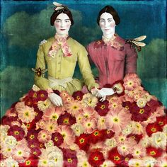 ▫Duets▫ sisters, twins & groups of two in art and photos - Beth Conklin