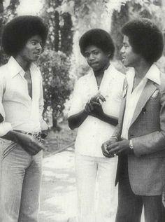 Michael, Randy & Marlon :)  - Cuteness in black and white ღ  by ⊰@carlamartinsmj⊱