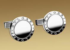 BVLGARI BVLGARI cufflinks in sterling silver.