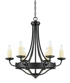 CanadaLightingExperts | Elba - Six Light Chandelier