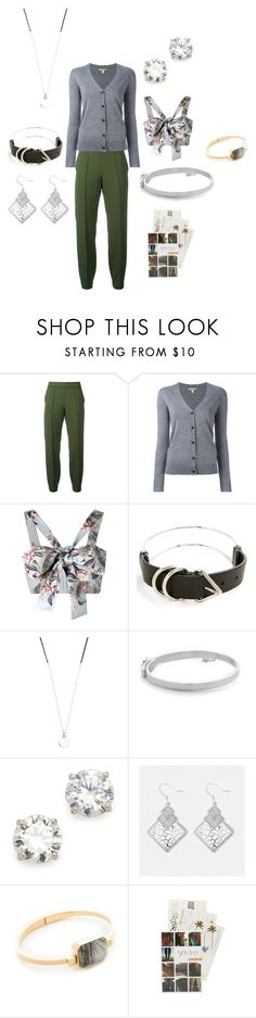 """CRAZY SET"" by ramakumari ❤ liked on Polyvore featuring Blugirl, Burberry, Zimmermann, Alexander Wang, Scosha, Eddie Borgo, Kenneth Jay Lane, Avenue, Ringly and Flash Tattoos"