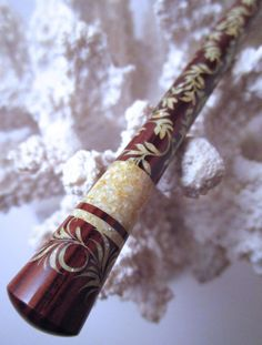The Princess Eve Hair Stick Featuring by TimberstoneTurnings