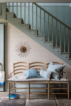 Discover hallway design ideas on HOUSE - design, food and travel by House & Garden. William Yeoward chooses a harmonious union between past and present.
