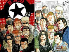 2007-->2012 Manga Art, Manga Anime, Manhwa, Crows Zero, Lowbrow Art, Aesthetic Grunge, Jojo Bizarre, Jojo's Bizarre Adventure, My Hero