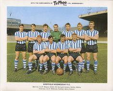 Sheffield Wed team group in Retro Football, World Football, Football Stadiums, Sheffield Wednesday Wallpaper, Sheffield Wednesday Fc, Football Program, Football Kits, Football Cards, Typhoo