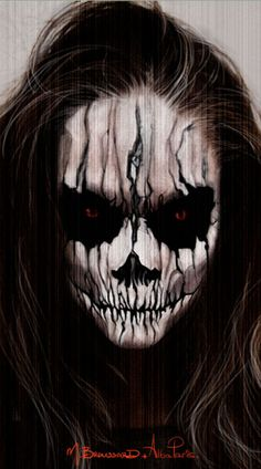 Halloween Face Painting | Halloween Skull Face Paint IdeasWELCOME TO A WORLD OF SKULLS