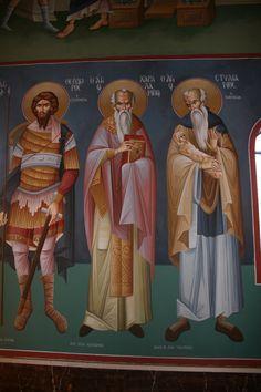 Saint Anthony Church, Byzantine Icons, Nashville Tennessee, Athens Greece, Fresco, Saints, Artists, Creative, Fresh