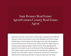 Sam Benner Real Estate Agent
