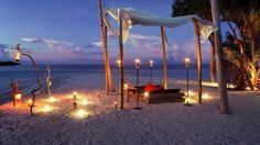 Dinner in the #Maldives
