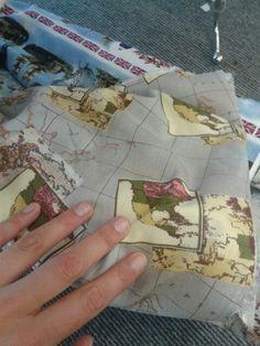 Maps steampunk dress