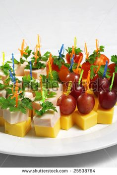 Find Delicious Appetizer Plate Cheese Grapes Ham Stock Images in HD and millions of other royalty-free stock photos, illustrations, and vectors in the Shutterstock collection. Thousands of new, high-quality videos added every day. Toothpick Appetizers, Cold Appetizers, Appetizer Plates, Finger Food Appetizers, Appetizers For Party, Appetizer Recipes, Snack Recipes, Cooking Recipes, Italian Appetizers
