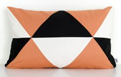 Rali-Living Bonbon Pillow in Orange