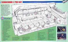 05 Thunderbird 2 Pod Bay by ArthurTwosheds