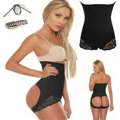 f3878d4353 Hot Butt Lifter Panties Push Up Hip Make Big Buttocks Underpants High Waist  Slimming Underwear Female