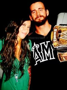 AJ Lee & CM Punk