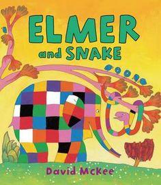 Elmer and Snake (Elmer) by David McKee