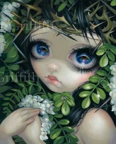 Poisonous Beauties XII - Black Locust by Jasmine Becket-Griffith