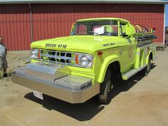 1968 Dodge Brush Fire  Truck - W-300 Power Wagon ★。☆。JpM ENTERTAINMENT ☆。★。