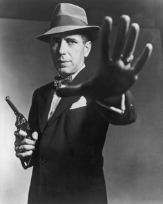 Humphrey Bogart. One half of The Big Sleep, Mr Allnut to Rose Sayer, Rick Blaine to Ingrid Bergman...here's lookin' at you kid? The best in other words.