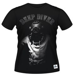 Deep Diver - Men's T-shirt  #underwater #diving #scuba #scubadiving #afterdive #tshirt #octopus #diver #scubadiver #padi #cmas