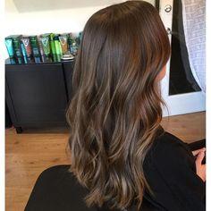 Tiffany (@hairluvbytiffany) on Instagram: subtle natural brunette balayage