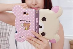 Polka Dot Rilkakkuma IPhone 4/5 $20.00 Light Pink