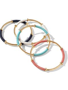 Talbots - Thread-Wrapped Bangle | Jewelry |
