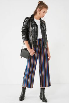 UO Ant Knit High-Rise Cropped Pant | Urban Outfitters