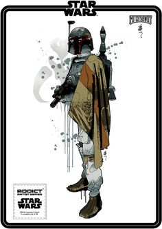 Amazing STARS WARS Shirt Designs by Mitchy Bwoy