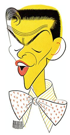 The amazing talent of Al Hirshfield - Frank Sinatra.
