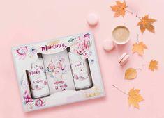 Dárkový kosmetický balíček pro maminku. Kosmetická sada mamince obsahuje sprchový gel, vlasový šampon a koupelovou sůl. Balíček je krásný dárek pro maminku k narozeninám, svátku nebo k Vánocům.