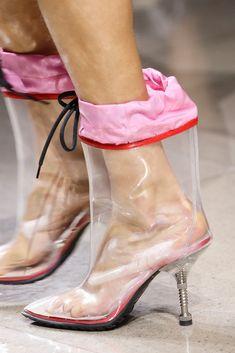 Miu Miu see through boots