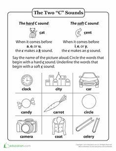 Word Sort Hard C Soft C by JPolkinghorne - Teaching Resources - Tes