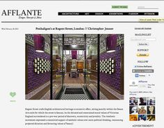 Christopher Jenner | News: Afflante | The Netherlands | 2-2013