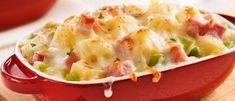 Gratin de Jambon Poireaux et Fromage Suisse Potato Salad, Mashed Potatoes, Casseroles, Ethnic Recipes, Amp, Food, Vegetable Casserole, Swiss Cheese, Meal